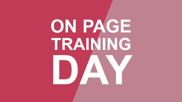 On Page Training Day